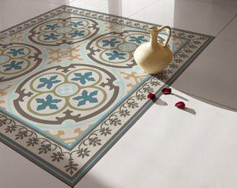 Carreaux Traditionnels Carrelage Vinyl Floor Stickers Tile