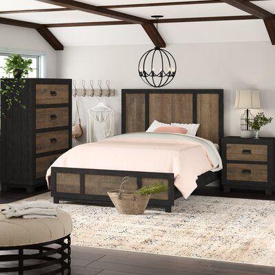Gracie Oaks Llewellyn Standard 3 Piece Bedroom Set Wayfair Bedroom Set Bedroom Sets Platform Bedroom Sets