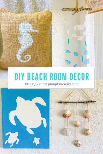 4 Diy Beach Room Decor Ideas Beach Room Decor Beach Room Room