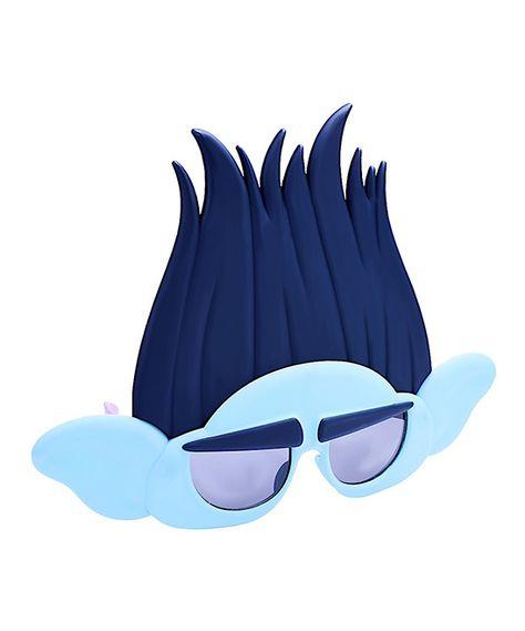 Dream Works Trolls UV Protection Kids//Children Girls/' Poppy Blue Sunglasses