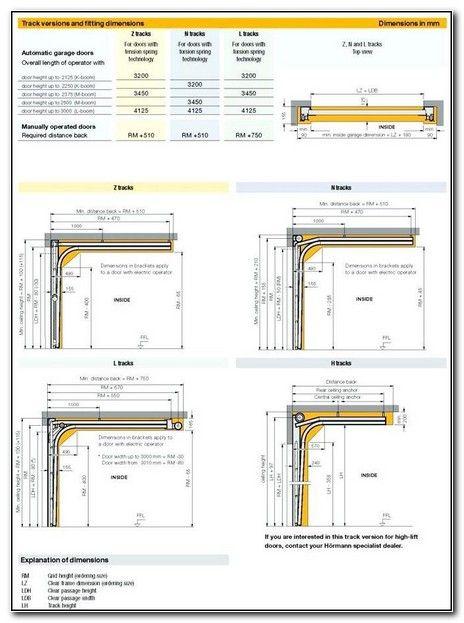 Typical Commercial Garage Door Sizes Garage Door Sizes Garage Doors Sectional Garage Doors