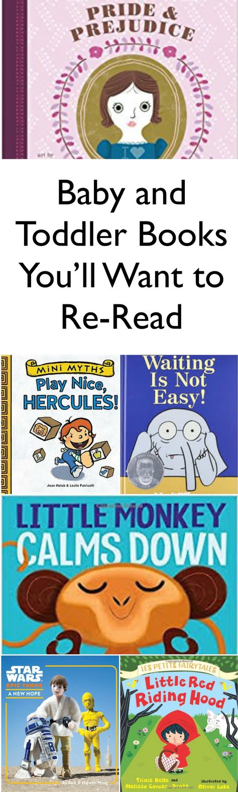 Baby and Toddler Books You'll Want to Re-Read