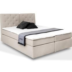 Box Spring Beds In 2020 Fabric Armchairs Box Spring Bed Bed