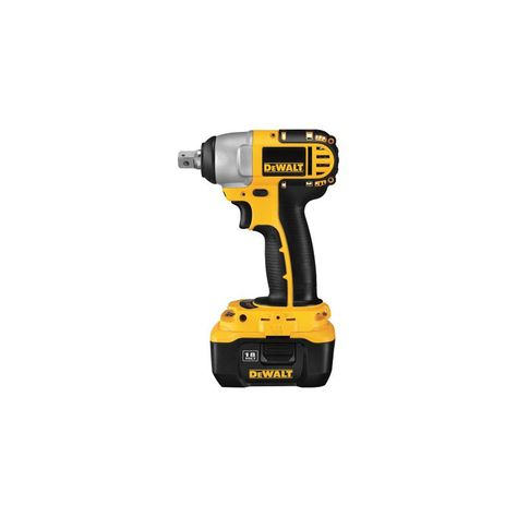 Dewalt Dc822kl 1 2 18 Volt Cordless Xrp Li Ion Impact Wrench With Frameless Mot Tools Drills Drivers Wrenches