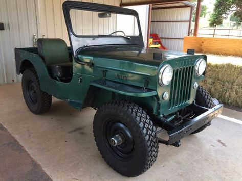 Willys Cj3b Jeep For Sale Photos Technical Specifications