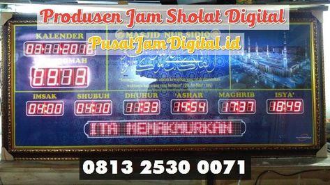 Jam Jadwal Sholat Di Pagar Alam Wa 0813 2530 0071 Distributor Jam