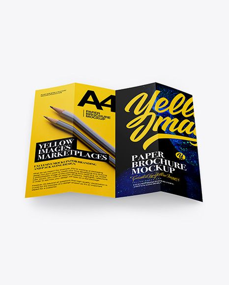 Download Free Mockup Brochure Psd Yellowimages