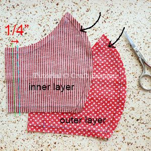 Face Mask Pattern Free Sewing Patter In 2020 Free Sewing