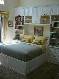 Closets Built Around Bed   Bing Images
