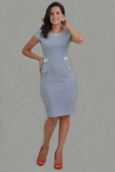5741cfb15 Modelos de Vestidos Evangélicos para Religiosas e Crentes