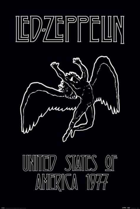 Led Zeppelin - Icarus - Poster