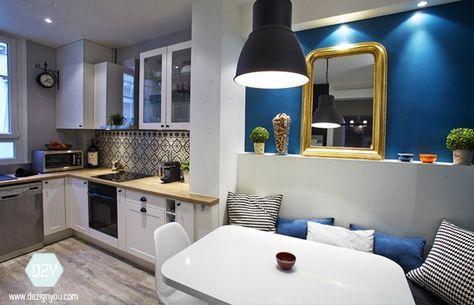 Cuisine & salle de bain rénovées – Appartement Haussmannien Paris ...