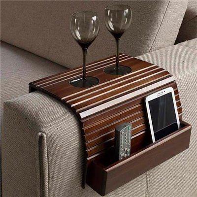 sofa arm tray armrest flexible coach