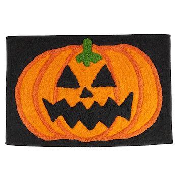 Halloween Projector 2020 Spider Celebrate Halloween Together Jack o' lantern Bath Rug   Kohls in