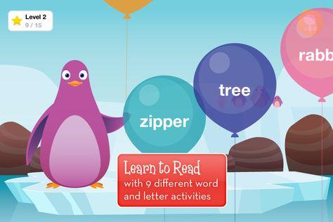 The Kindergarten reading app is perfect for uh, kindergarteners.