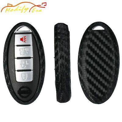 Details About Carbon Fiber Soft Silicone Key Fob For Nissan Or Infiniti Oval Shape Keyless Key Carbon Fiber Fobs Car Key Fob