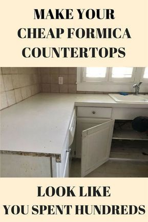 Concrete Counters Feather Finish Over Formica Diy Kitchen