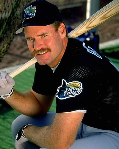 quality design fb7af d1012 Wade Boggs | Tampa Bay Rays | Mlb players, Baseball star ...