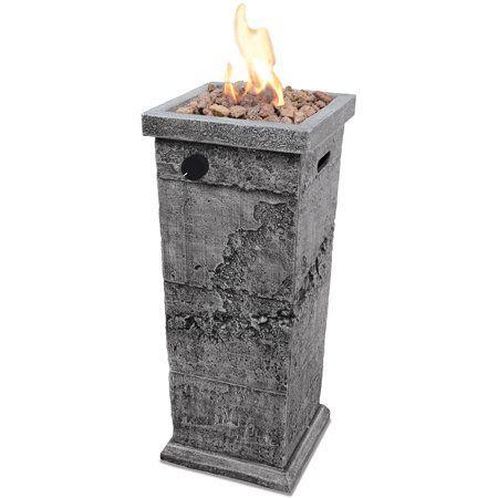 Endless Summer Lp Gas Outdoor Fire Column Walmart Com In 2020 Gas Firepit Outdoor Fire Pit Outdoor Fire