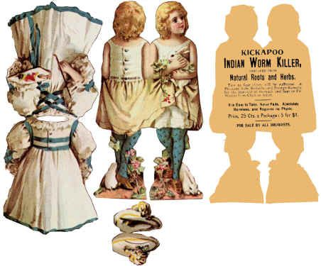 Antique paper dolls and paper toys to make - Joyce hamillrawcliffe