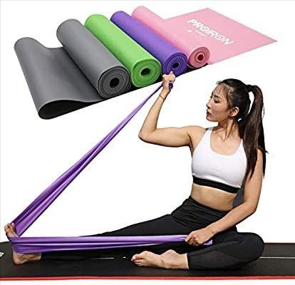 MENGZF12 Banda Elástica FitnessLargo Yoga Cintas Elásticas Látex Natural para...