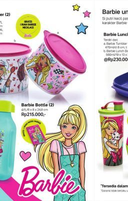 Promo Tupperware November 2018 : promo, tupperware, november, Tupperware, Barbie, Canister, Kebumen, Http://jozzbuy.com/tupperware-barbie-canister-2-dg1-40998.html, Tupperware,, Barbie,