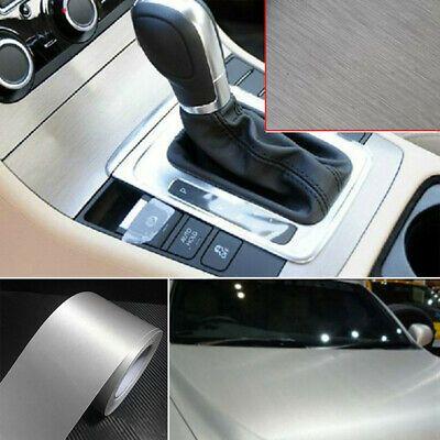 Sponsored Ebay Car Metallic Matte Brushed Steel Vinyl Wrap Sticker Silver Decals Accessories In 2020 Vinyl Wrap Car Carbon Fiber Vinyl Vinyl For Cars