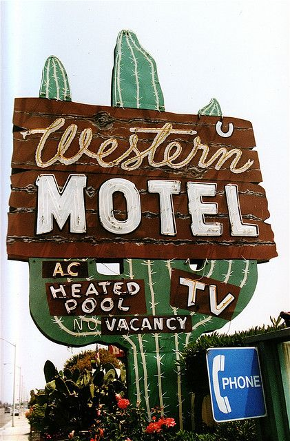 Western Motel neon sign - Santa Cruz, CA Old Neon Signs, Vintage Neon Signs, Old Signs, Photo Wall Collage, Picture Wall, George Strait, Western Wall, Western Signs, Western Theme