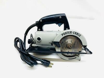 Sponsored Ebay Porter Cable 314 Heavy Duty Trim Saw 4 1 2 Circular Saw Usa Porter Cable Circular Saw Worm Drive