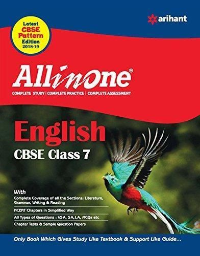 CBSE All In One English Class 7 for 2018 - 19 | Best CBSE
