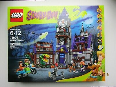 LEGO SCOOBY SCOOBY-DOO MYSTERY MANSION LEGO 75904 NEW SEALED BOX