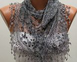 Women Shawl Scarf Headband Necklace Cowl by fatwoman on Etsy.