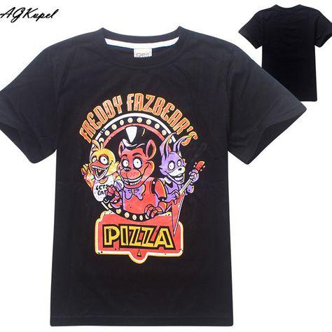 Freddy Fazbear's Pizza Logo Creepy horror game tee t-shirt