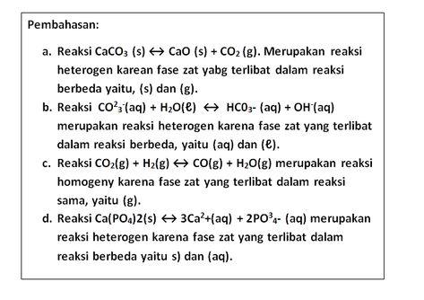 Contoh Soal Dan Pembahasan Kimia