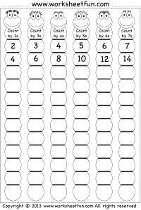 worksheet: Math Worksheets Skip Counting Worksheet 3rd Grade. Math ...