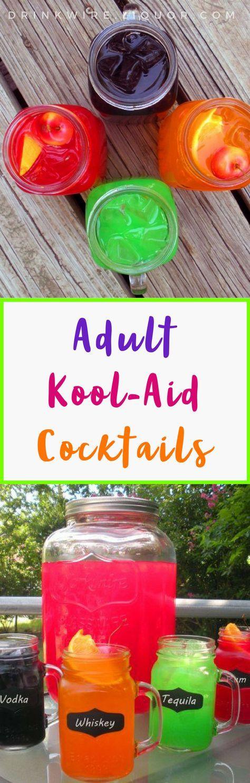 Liquor Com Fun Drinks Alcohol Alcoholic Drinks Vodka Kool Aid