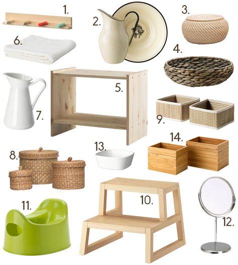 Eltern vom Mars: Montessori feat Ikea - im Badezimmer