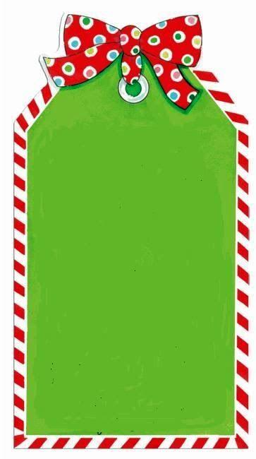 tarjeta papa noel borders pinterest christmas tag natal and rh pinterest com christmas tags clip art free gift tag clipart images