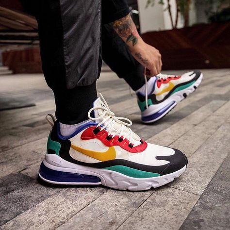 Find The Nike Air Max 270 React Bauhaus Men S Shoes At Nike Com