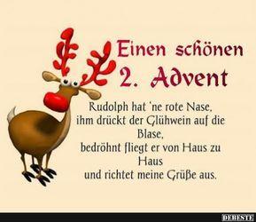 Einen Schonen 2 Advent Spruche Weihnachten Lustig Advent Lustig Weihnachten Lustige Bilder
