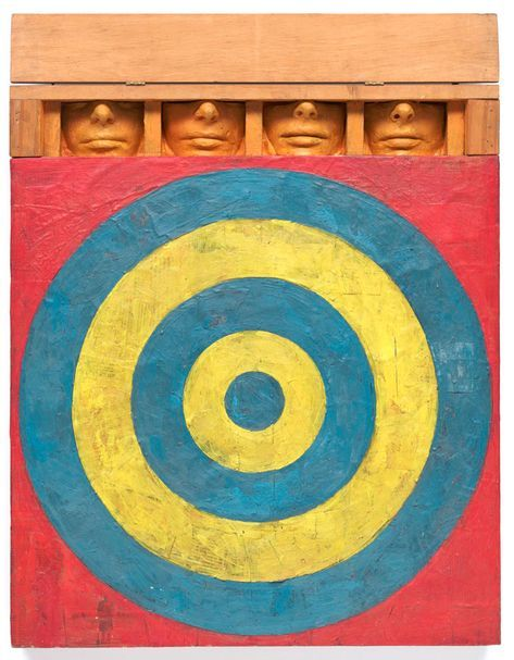 Target with Four Faces (1955): Jasper Johns' Intriguing Work | Jasper johns  paintings, Jasper johns, Art