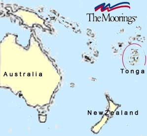 Where Is Tonga Island Located Sailing Maps Charts And - Tonga map