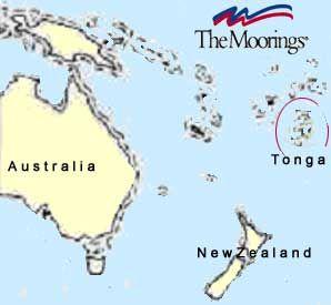 Where Is Tonga Island Located Sailing Maps Charts And - Tonga map