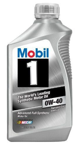Mobil 1 0w 40 Synthetic Motor Oil High Temperature Protection 1 Quart Pack Of 6 Mobil1