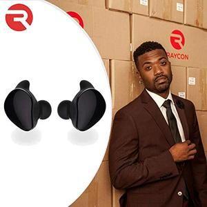 Raycon E80 Ultra Drop True Wireless In Ear Bluetooth Headphones With Charging Case Black Bluetooth Headphones Headphones Wireless
