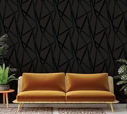 Constellations Navy Wallpaper In 2020 Peel And Stick Wallpaper Removable Wallpaper Geometric Removable Wallpaper
