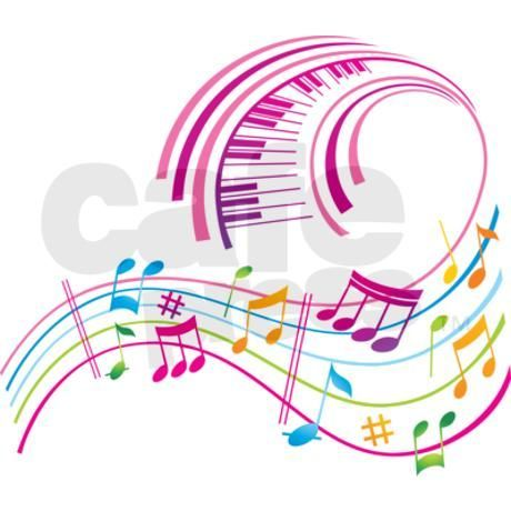 Music Art Shower Curtain by AwesomeSauce – CafePress