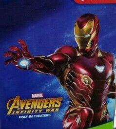 Avengers Infinity War Iron Man Mark 50 Iron Man Iron Man