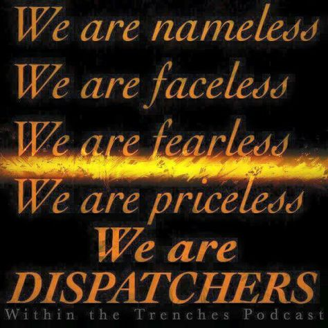 Aircraft Dispatchers are the silent angels on the aircraft helping the pilots when something occurs. We don't ask for recognition. We don't seek recognition. We've done our job when we go home at the end of our shift and no one knows we were there.