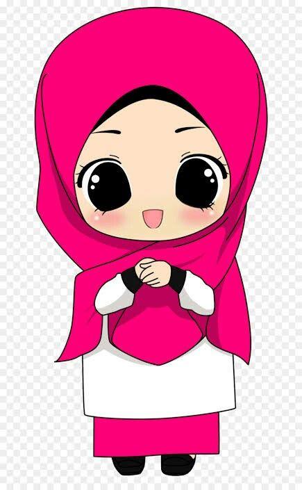 Animasi Islam Hijab Hijab Cartoon Sleep Cartoon Rabbit Cartoon Drawing